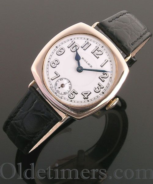 1920s 9ct Rose gold vintage Rolex watch