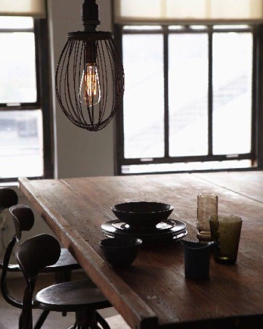 Hanging Whisk Lamp