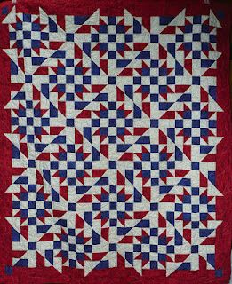 Quilts of Valor...such a beautiful R/W/B