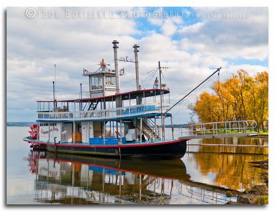 Chautauqua Institution - Chautauqua Belle Sternwheel Steamboat - photo by Igor Borisenko Photography, via Flickr  http://269belle.com/