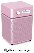 The Austin Air Baby's Breath filtration unit is designed to make any nursery an allergy free environment. It promotes a healthy sleeping environment for more restful sleep.