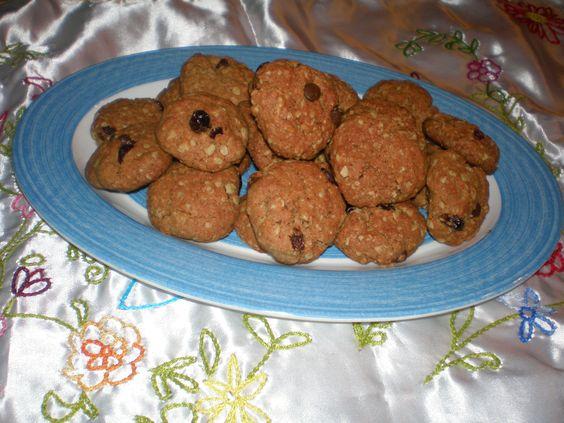 עוגיות גרנולה עשירות - מתכוני השף הלבן