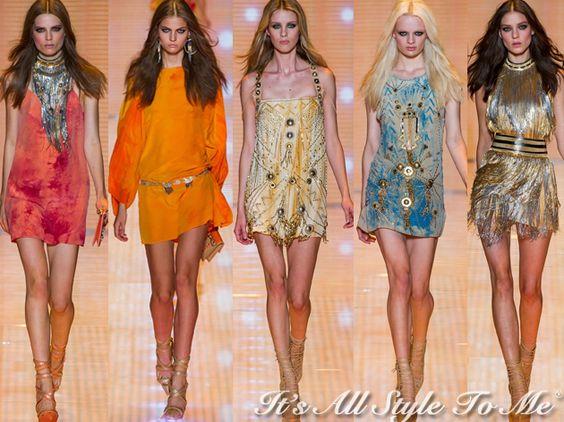 Versace RTW SS13 - http://itsallstyletome.com/2012/09/21/versace-springsummer-2013/