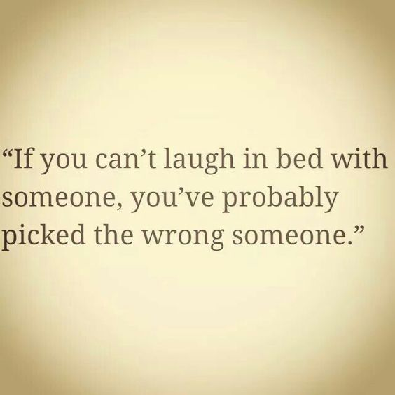 Always want to be able to laugh!