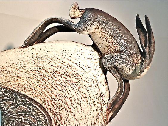 Blandine Anderson hare sculpture