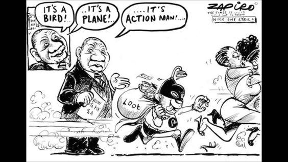 Explaining South African president, Jacob Zuma in cartoons