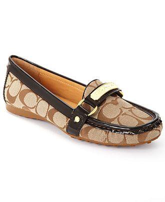 COACH FELISHA FLAT - Coach Shoes - Handbags & Accessories - Macy' $119