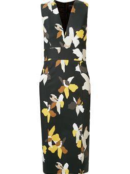 Vestido floral tubinho