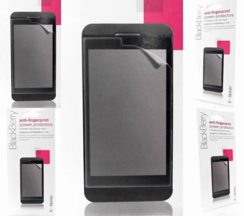 NEW T-Mobile Screen Protectors For Blackberry Z10 2PK Anti-Smear Clear SUPA39423 https://t.co/i5q2AcBrx9 https://t.co/9KprMeqBKy