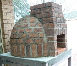 Build your own pizza oven pizza adobe and fireplaces for Diy adobe house