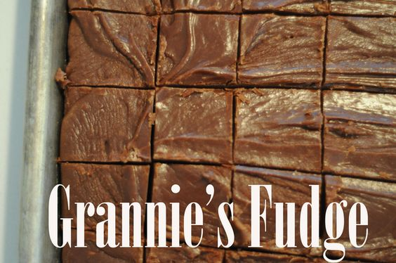 The best recipe for homeade old-fashioned fudge!