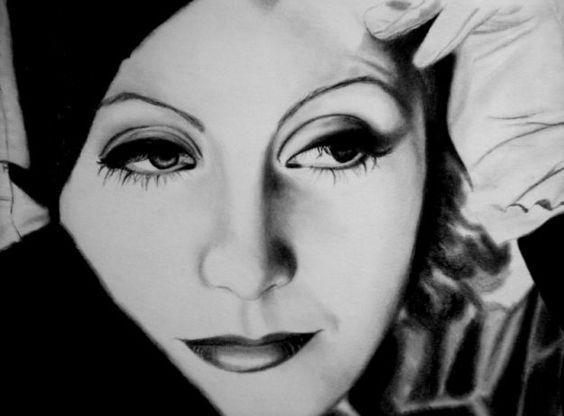 trucco anni 30 - Greta Garbo