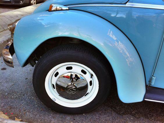 Escarabajo 1303. Aleta y rueda