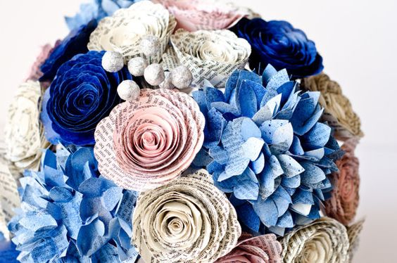 Every bride should have a bouquet as unique as her! Make your wedding memorable with these beautiful flowers, custom made from your choice of