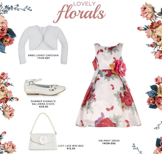monsoon children  lovely florals  #outfit #kidsfashion