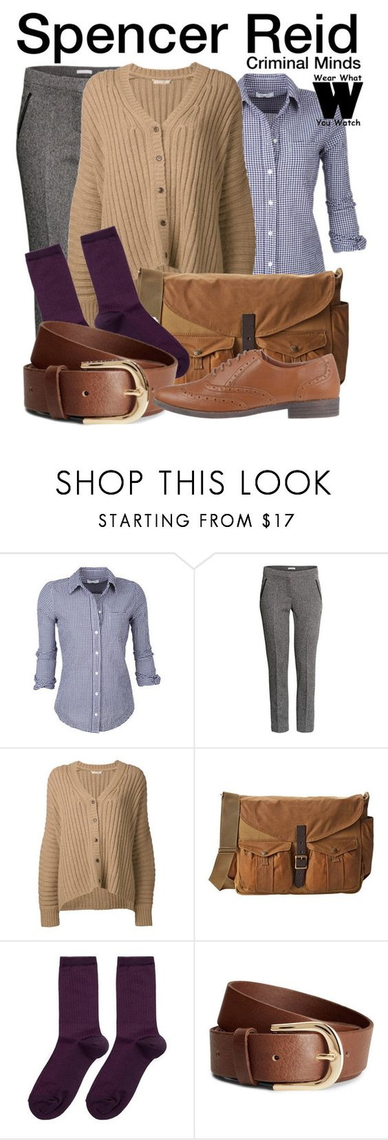 """""""Criminal Minds"""" by wearwhatyouwatch ❤ liked on Polyvore featuring H&M, Michael Kors, Filson, Hansel from Basel, River Island, television and wearwhatyouwatch"""