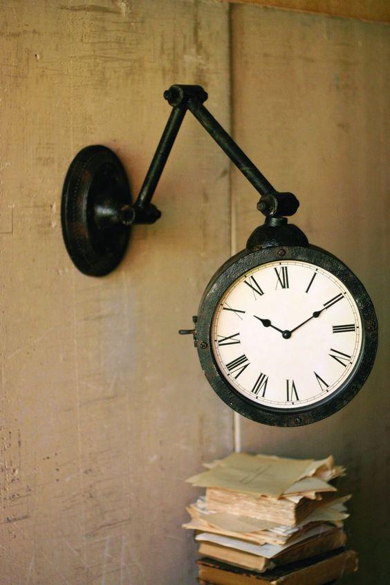 Metal Wall Clock: