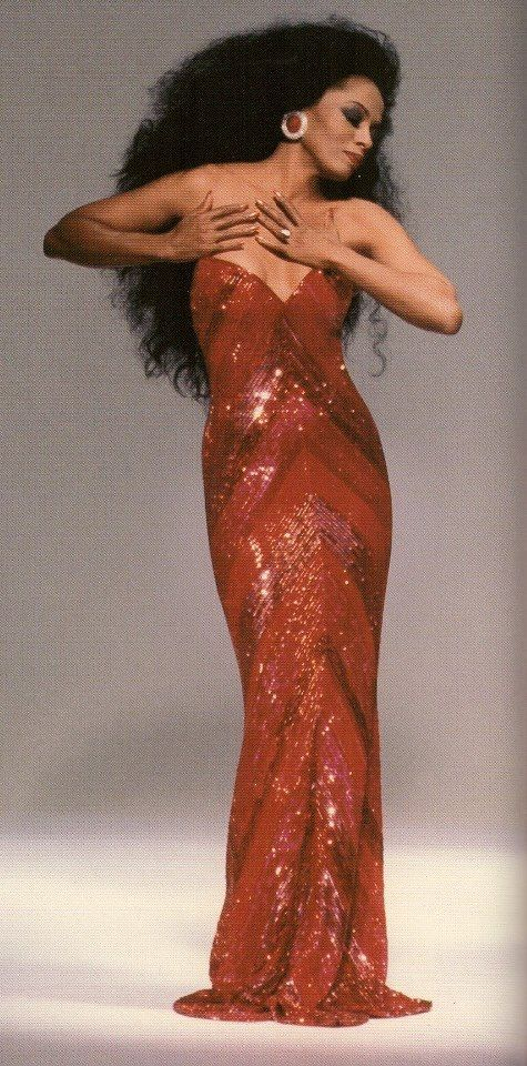 Diana Ross started my love for all things sparkly and made me proud of my big hair