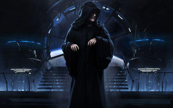 Darth Sidious/ Emperador Palpatine, Señor Oscuro del Sith Aprendiz de Darth Plagueis el Sabio y ejecutor final del Gran Plan y de su propio Maestro, como lo marca la tradiciòn Sith