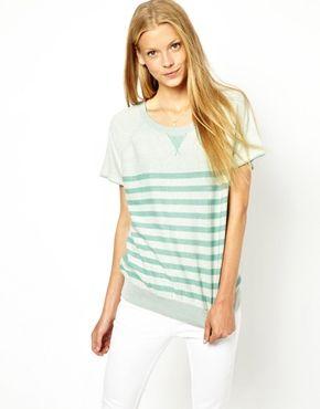 Oasis Stripe Sweatshirt