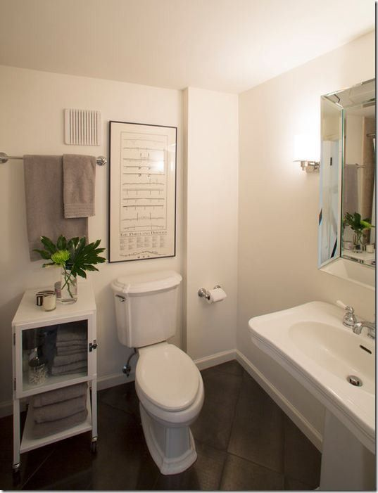 Decorating Ideas for That Wall Behind the Loo   Restyling Home by Kelly