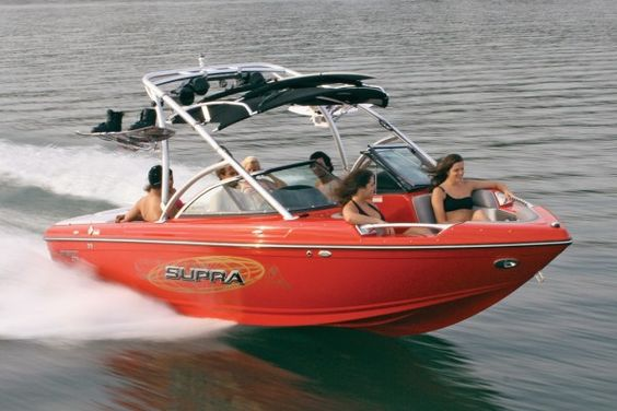 Straight rack shape - Supra Boats | Ski Boat Reviews | Boat Buyers Guide 2010 | WATERSKI