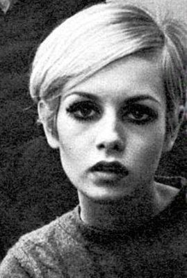 Twiggy.  If I ever get the guts, I'm going with her hair.