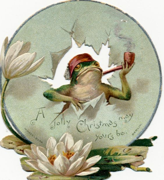 Victorian Frog: