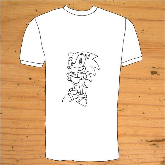Sonic The Hedgehog T-Shirt £13.00