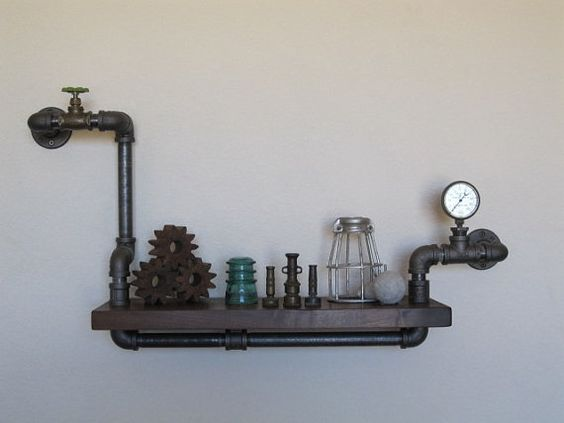 Solo Mini robusto con válvula y manómetro por vintagepipedreams