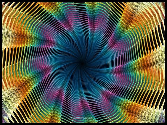Psychedelic Tunnel II by psion005 on DeviantArt