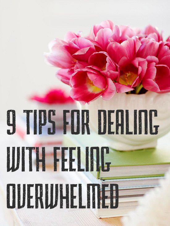 Simply Lovely, 9 Tips for Dealing With Feeling Overwhelmed - GAD, Generalized Anxiety Disorder