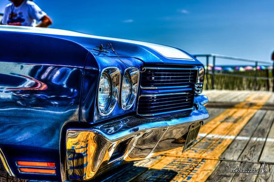 1970 Chevelle Grille Print by Joshua Zaring.  All prints are professionally…