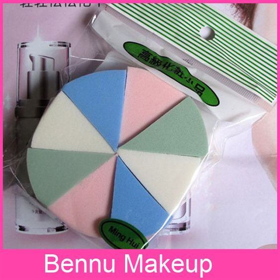 [DT019]MING HUI colorful Cotton Type Make Up Powder Puff Sponges for your perfect make up-in Cosmetic Puff from Beauty  Health on Aliexpress.com $20.52