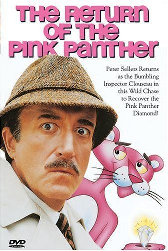 Peter Sellers in The Return of the Pink Panther