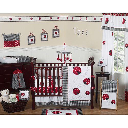 ladybug bedding ladybug bedroom ladybug nursery baby susie s baby maci