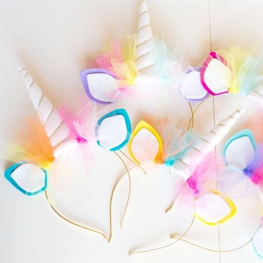 unicorn birthday party favors: