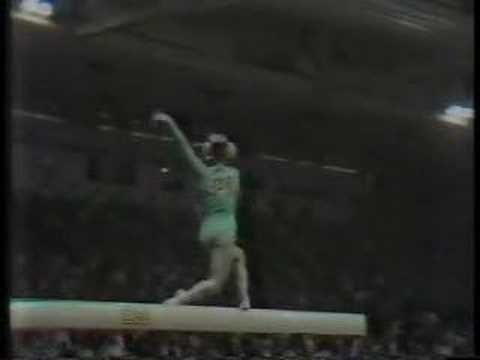 Cathy Rigby - 1970 World Championships Event Finals - Balance Beam