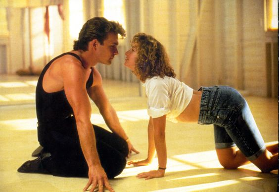 59 Great Movie Couples:Patrick Swayze and Jennifer Grey As Johnny Castle and Baby Houseman in Dirty Dancing (1987)