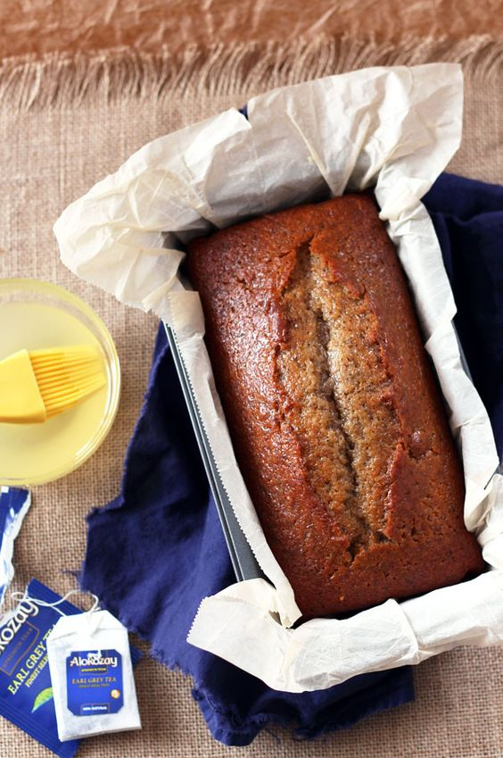 Earl Grey Tea Cake with Honey and Lemon