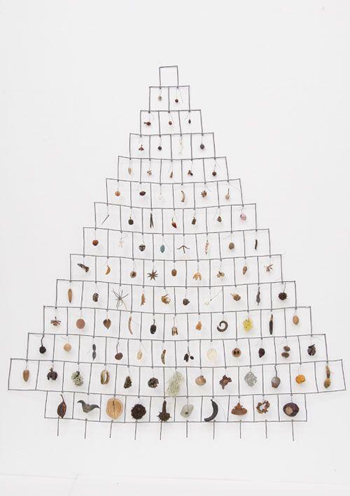 artspotting:  Mari Andrews, Inventory, 2011 steel, found objects