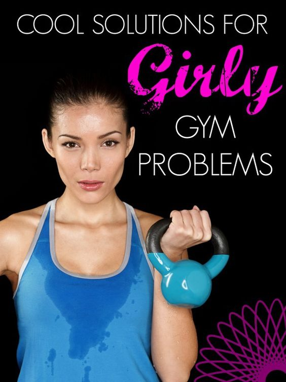 Simple solutions to your lady workout worries! #girlproblems