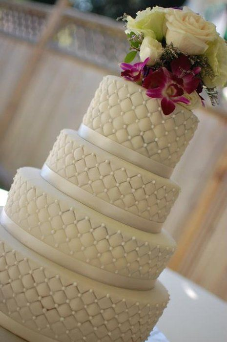 Cake Art By Rabia : Wedding cake by The Sweet Flour (3/14/2012) View Cake ...