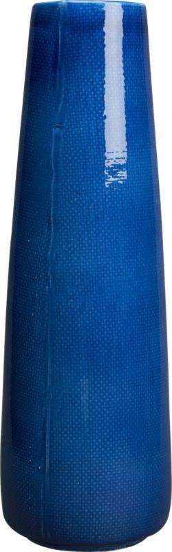 cambric blue vase