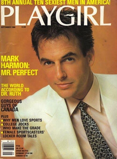 Mark na obálce časopisu Playgirl, září 1988