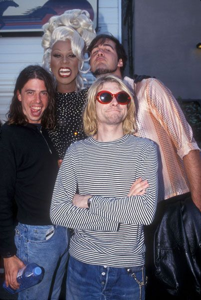 RuPaul and Nirvana. This picture makes me endlessly happy.