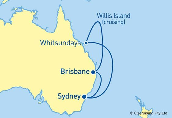 #RedHotDeal - Royal Caribbean #VoyagerOfTheSeas 8 night #cruise to Queensland from only $711 per person Twin Share. Departs Sydney 5/3/16.