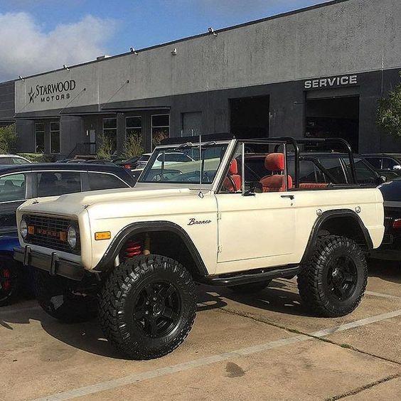 "Starwood Motors on Twitter: ""ford bronco. #starwoodmotors https://t.co/O30MjyphVv"""