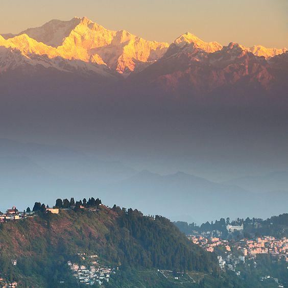 Mt. Kanchenjunga, Darjeeling, India