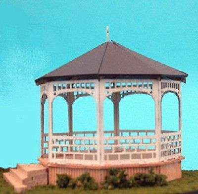 Dollhouse Miniature 1/144 Scale Gazebo Kit, Victorian Mansion #GAZ-10 1021